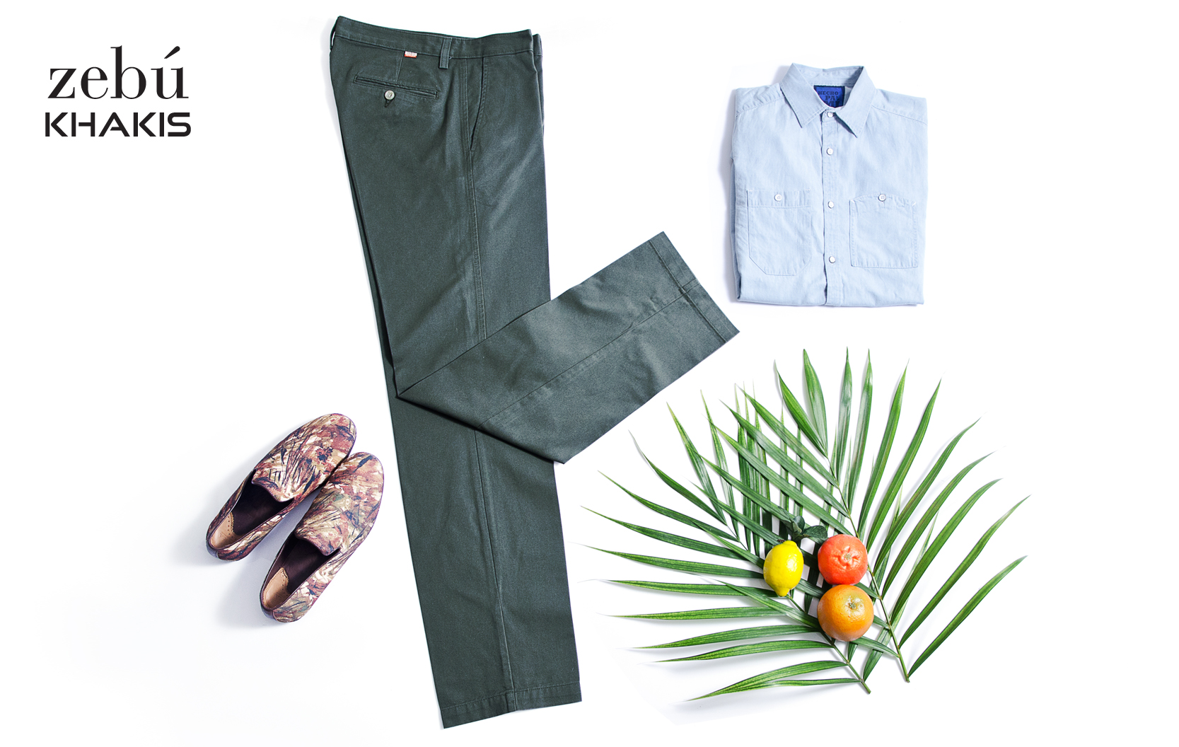 OUTFIT ZE106 VERDE OLIVO 2014